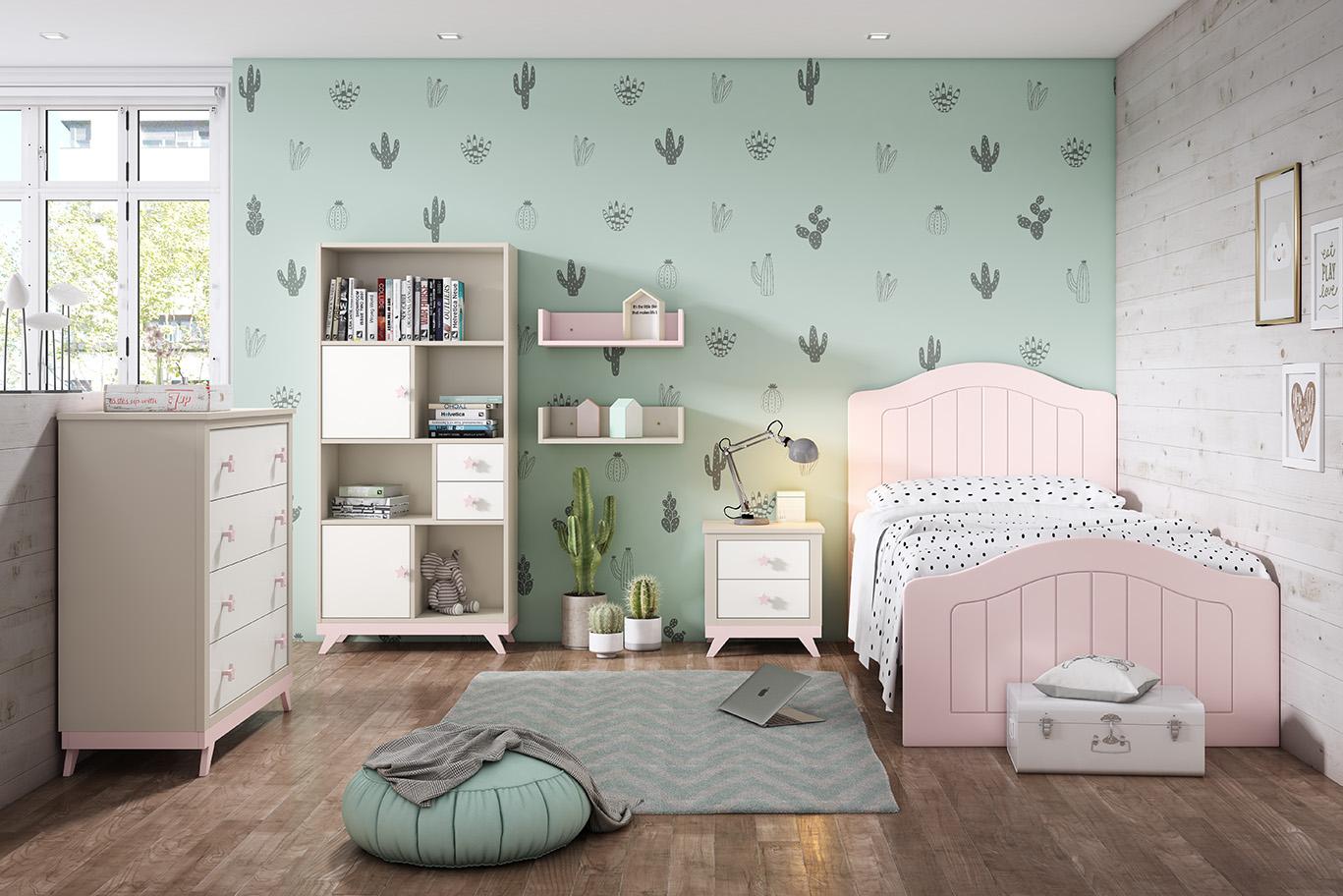 Dormitorio juvenil, Pablete 4