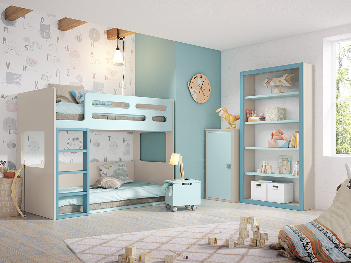 Dormitorio juvenil, Pablete 5