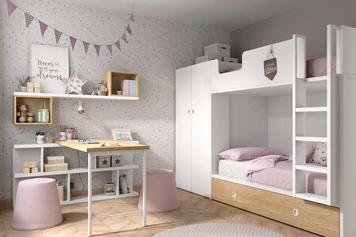Habitación nueva con Guarpi muebles