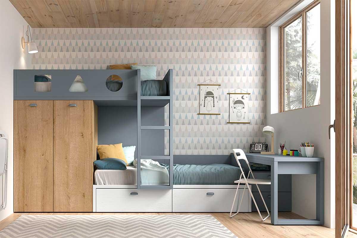 Dormitorio juvenil, K-16