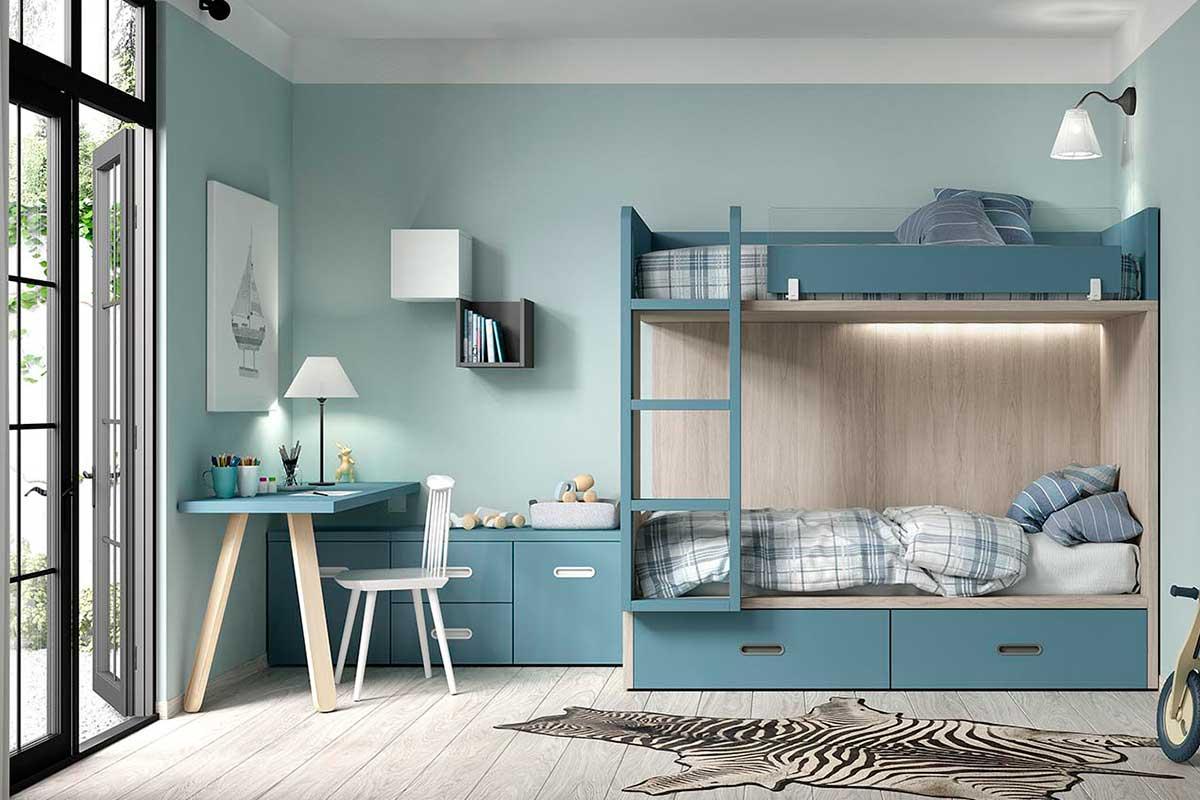 Dormitorio juvenil, K-22