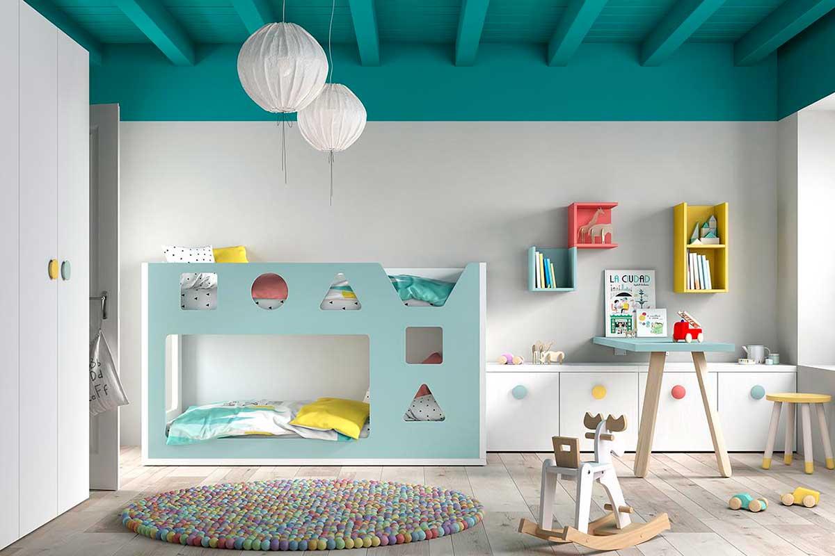 Dormitorio juvenil, K-28