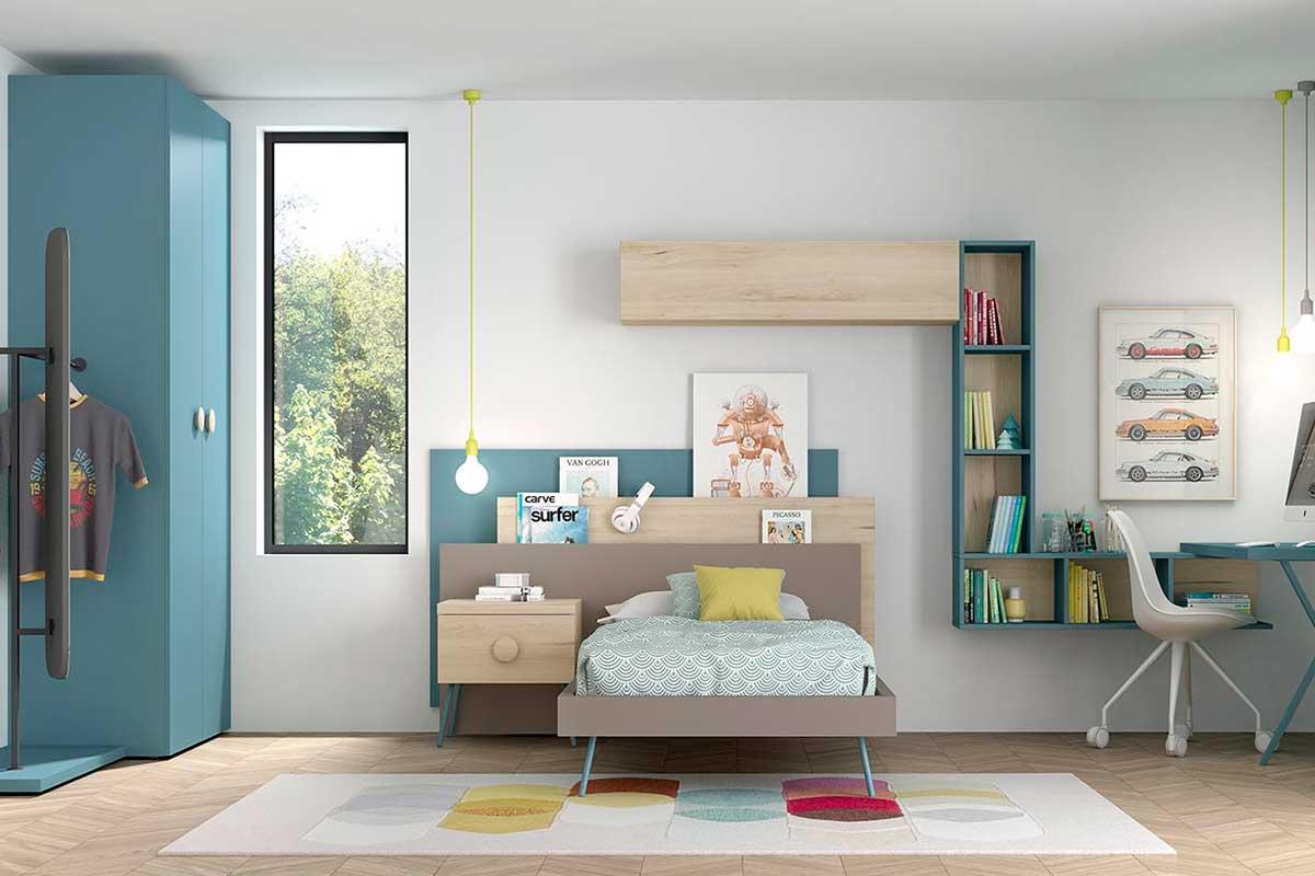 Dormitorio juvenil, K-31