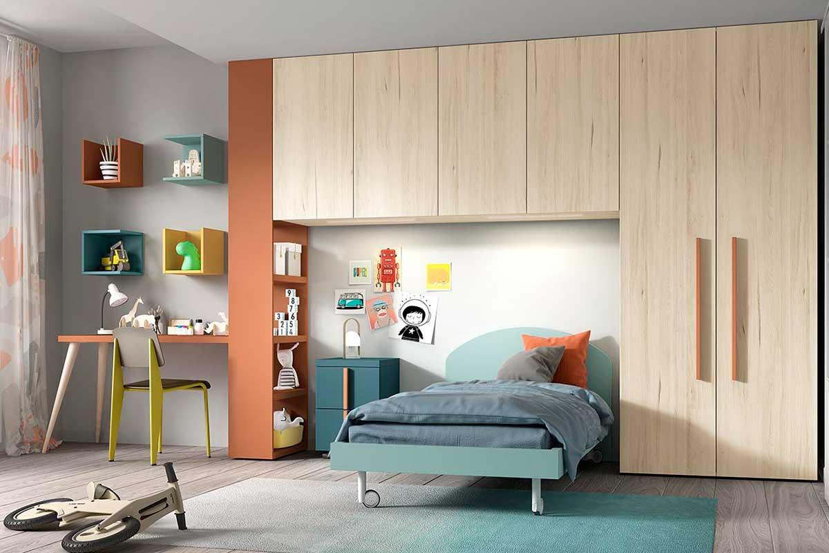 Dormitorio juvenil, K-32