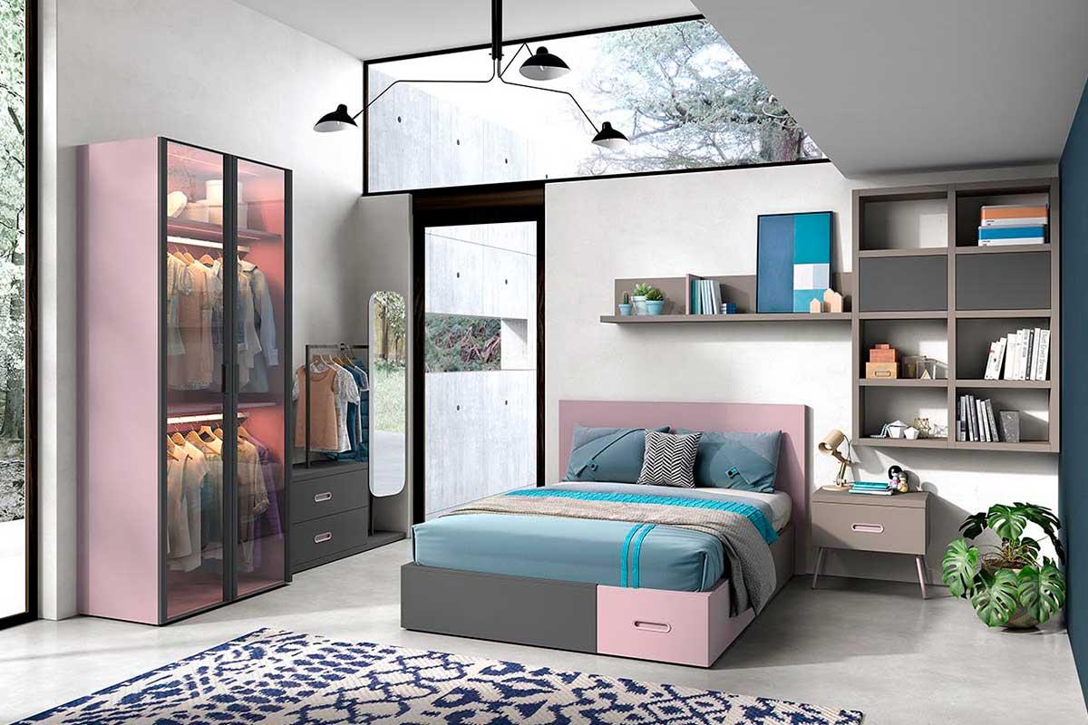 Dormitorio juvenil, K-37