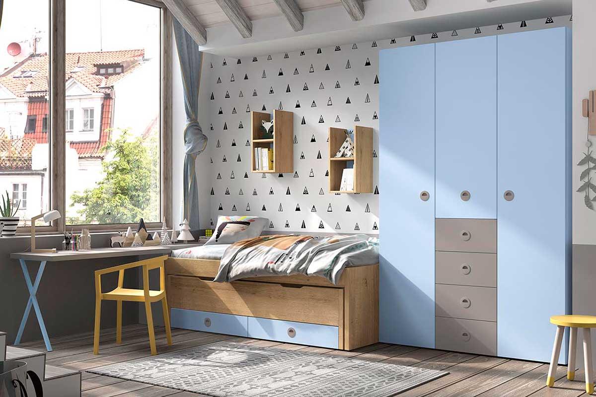 Dormitorio juvenil, K-43