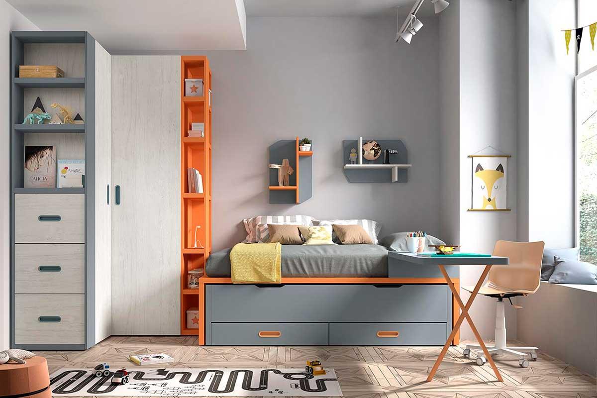 Dormitorio juvenil, K-44