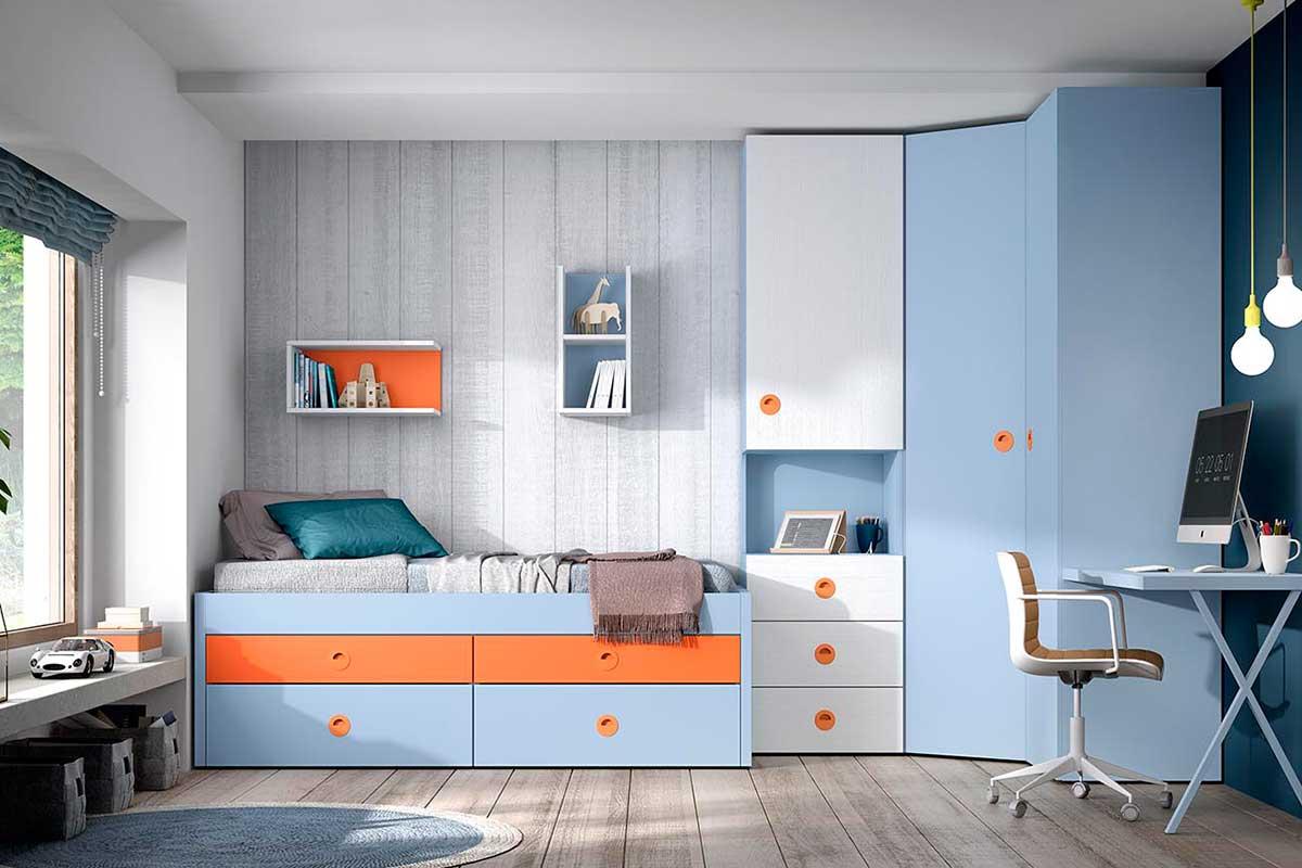 Dormitorio juvenil, K-49
