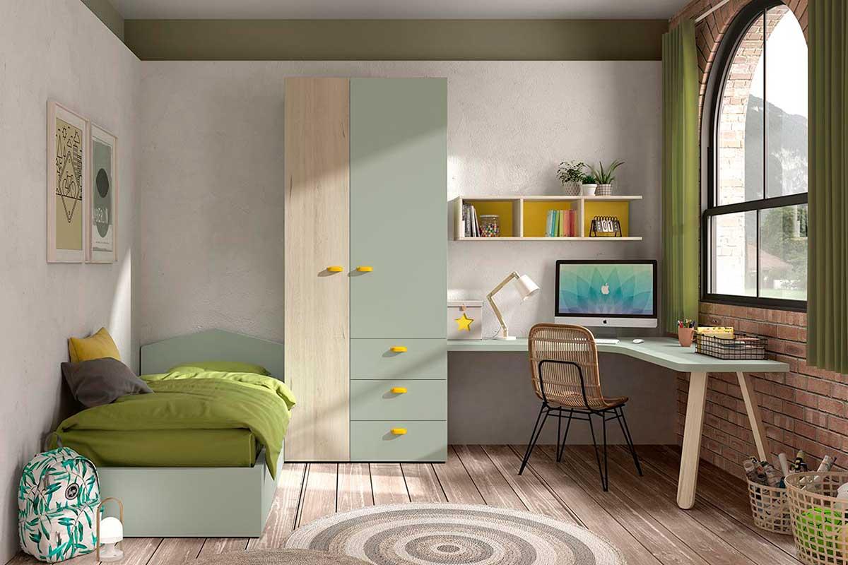 Dormitorio juvenil, K-50