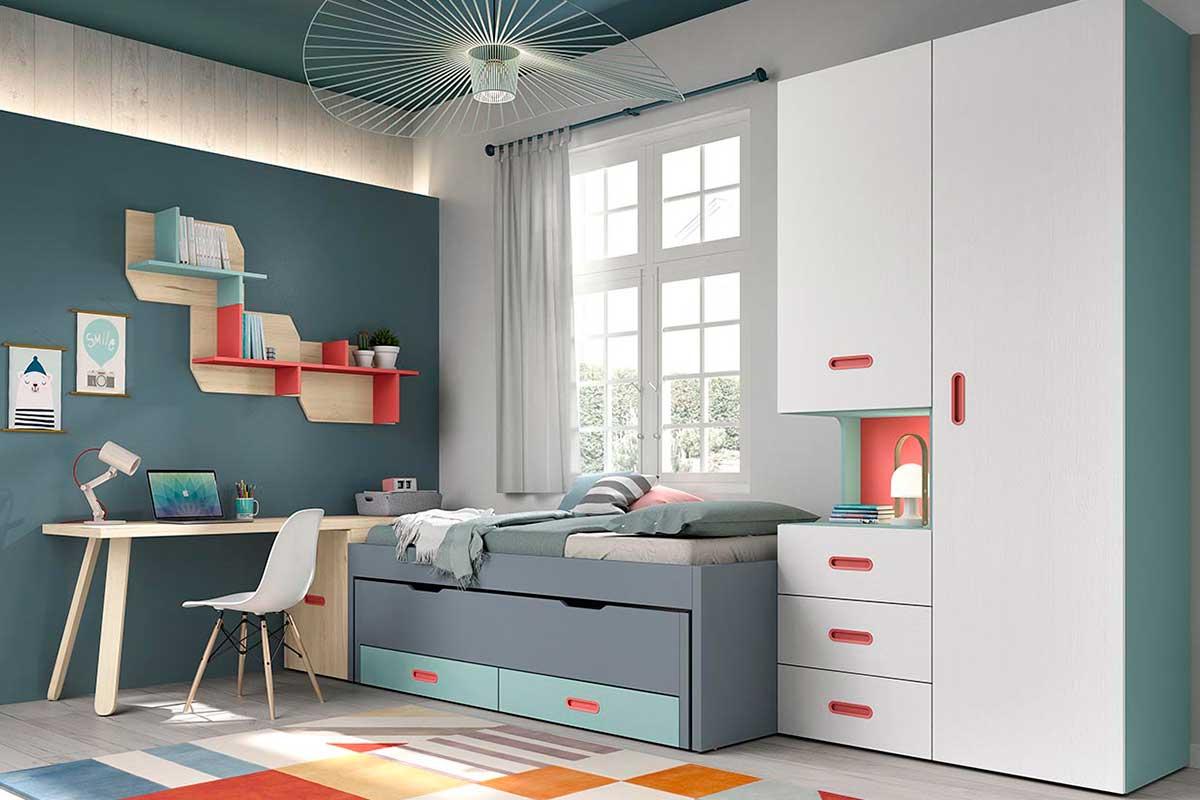 Dormitorio juvenil, K-53