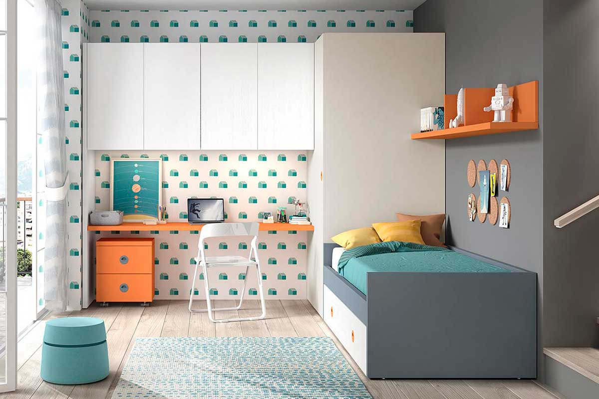 Dormitorio juvenil, K-58