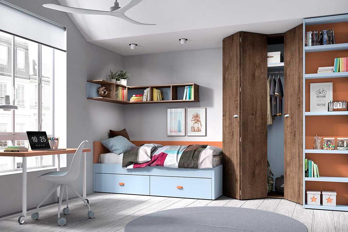 Dormitorio juvenil, K-62