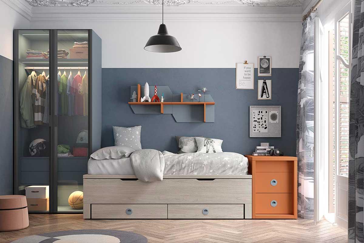 Dormitorio juvenil, K-63