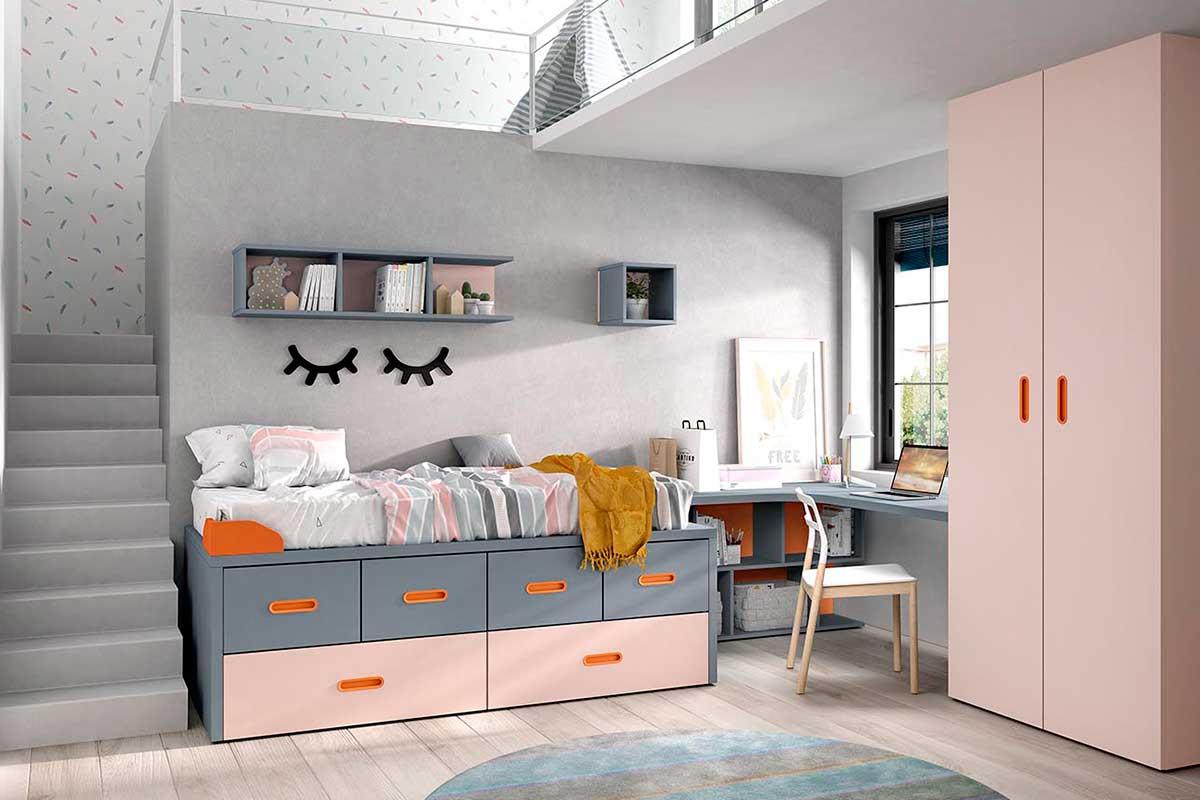 Dormitorio juvenil, K-65