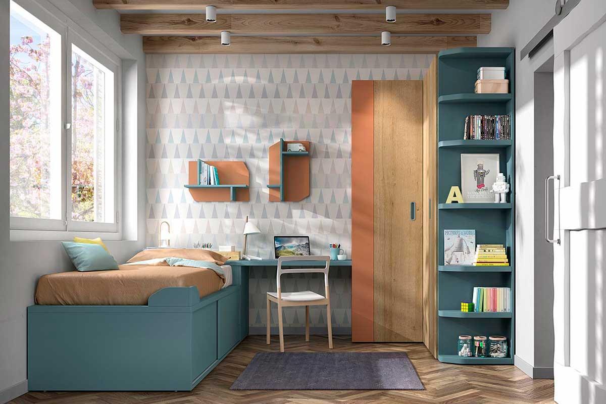 Dormitorio juvenil, K-70