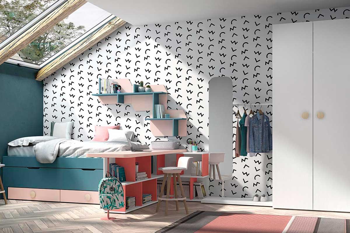 Dormitorio juvenil, K-71