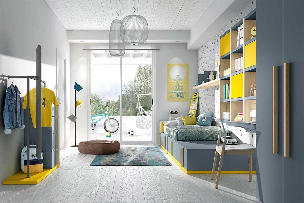 Dormitorio juvenil, K-75