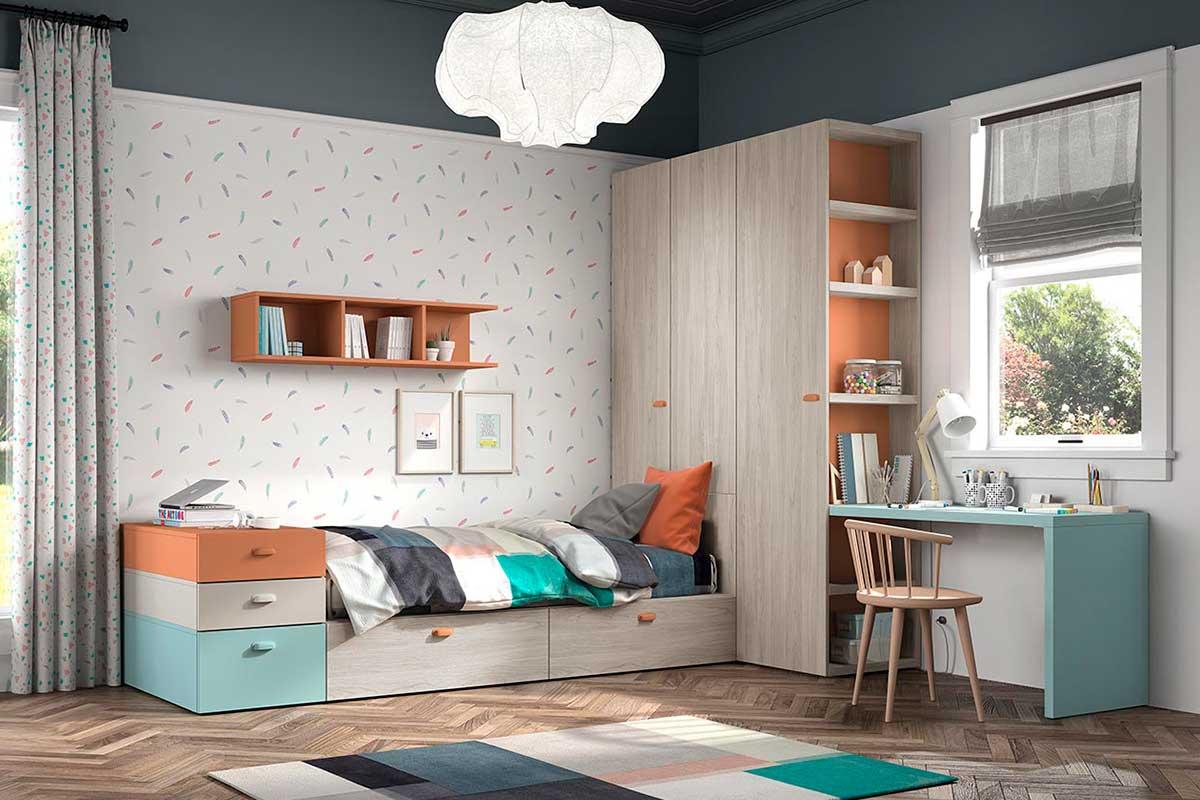 Dormitorio juvenil, K-77