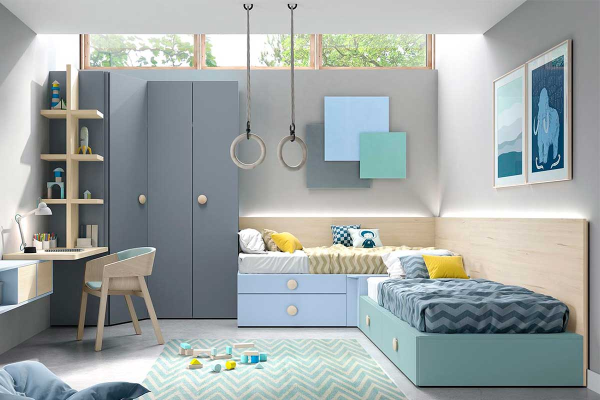 Dormitorio juvenil, K-80