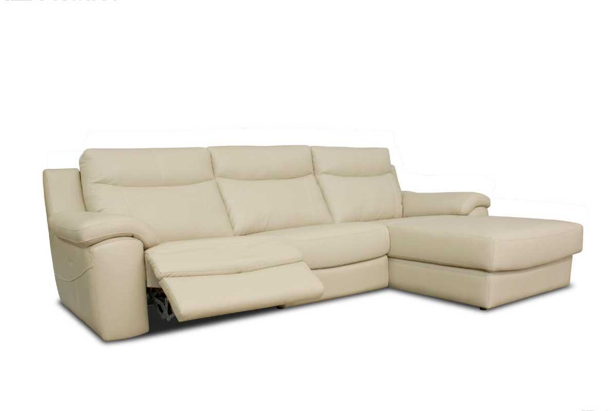 Sofá L12, mueble tapizado