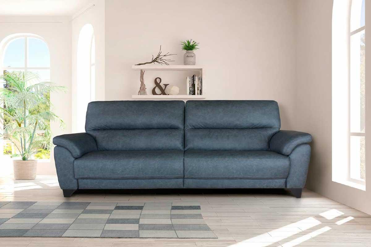 Sofá L17, mueble tapizado