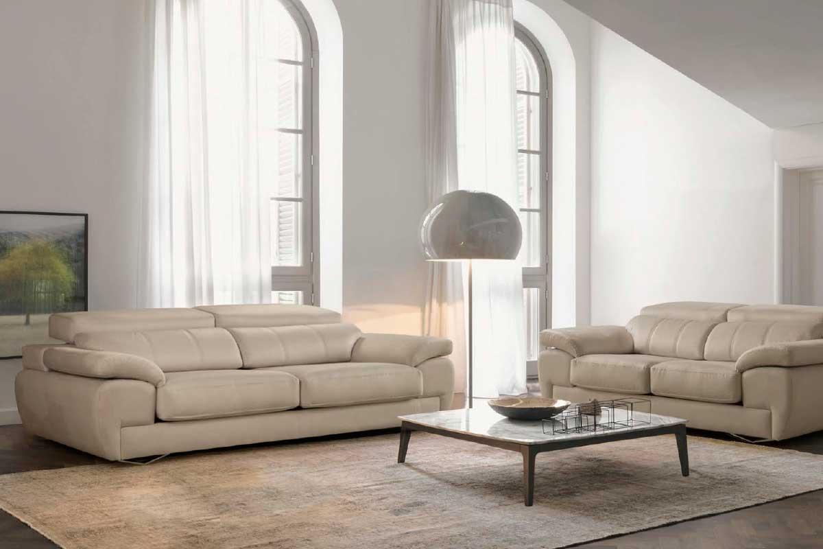 Sofá L18, mueble tapizado