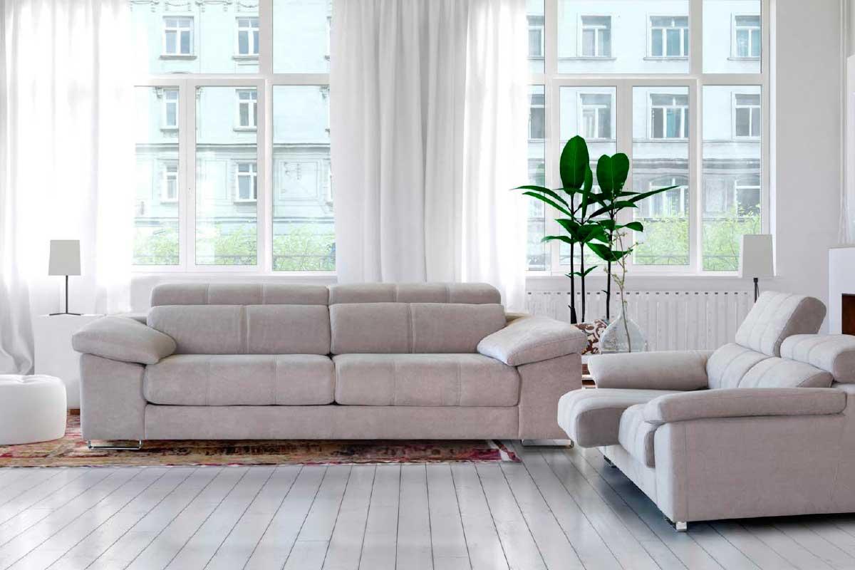 Sofá L20, mueble tapizado
