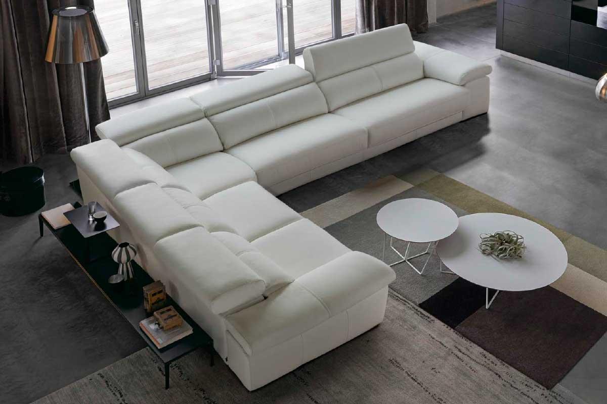 Sofá L21, mueble tapizado