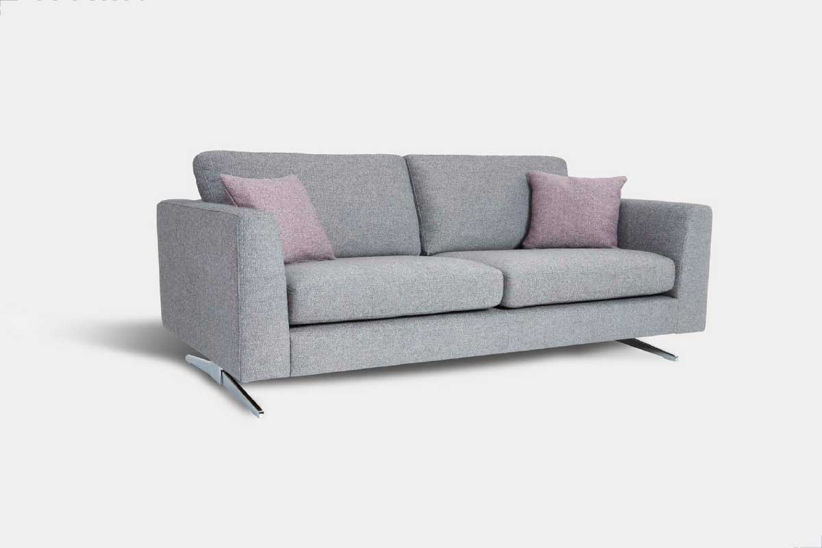 Sofá L28, mueble tapizado