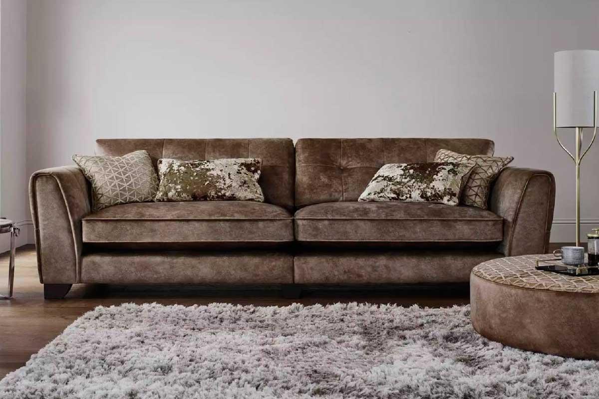 Sofá L34, mueble tapizado