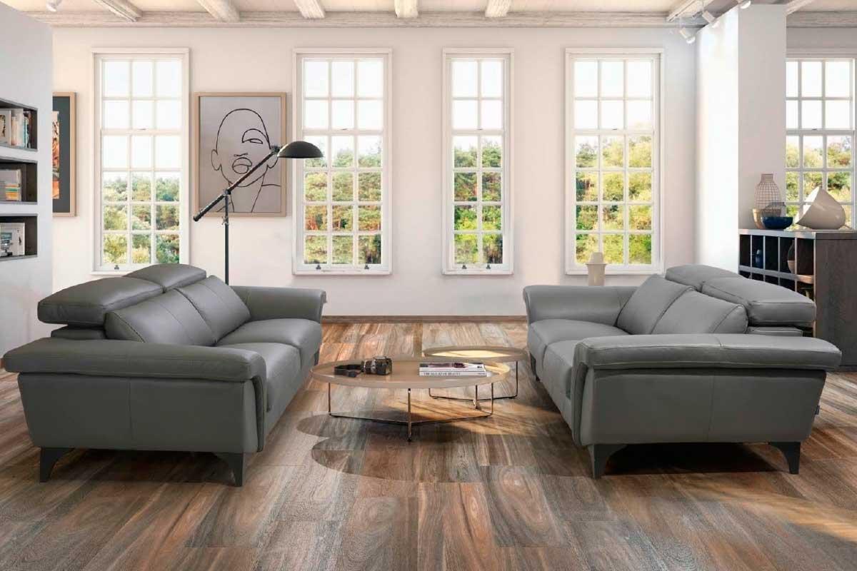 Sofá L40, mueble tapizado