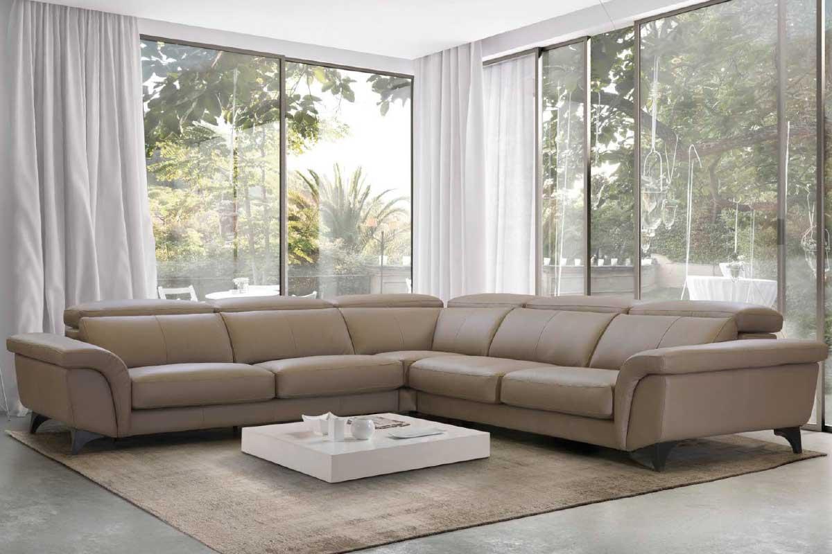 Sofá L41, mueble tapizado