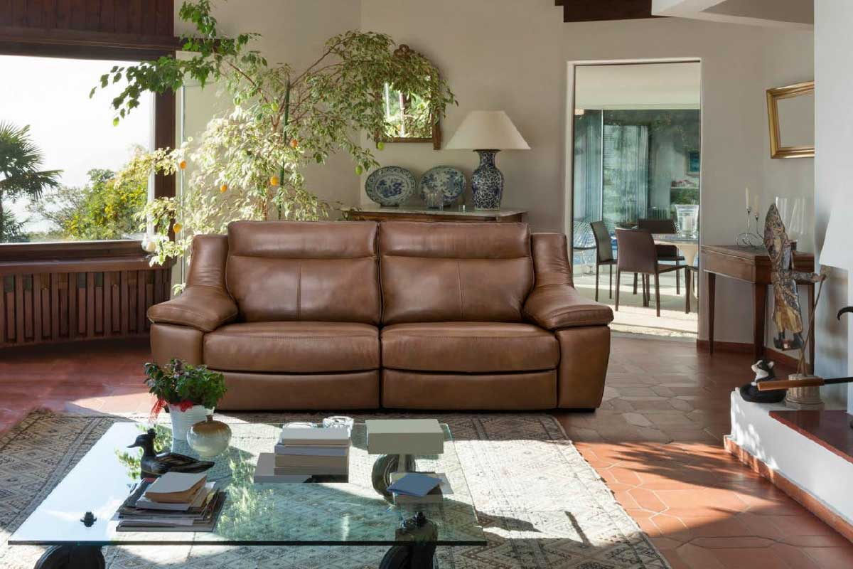 Sofá L6, mueble tapizado