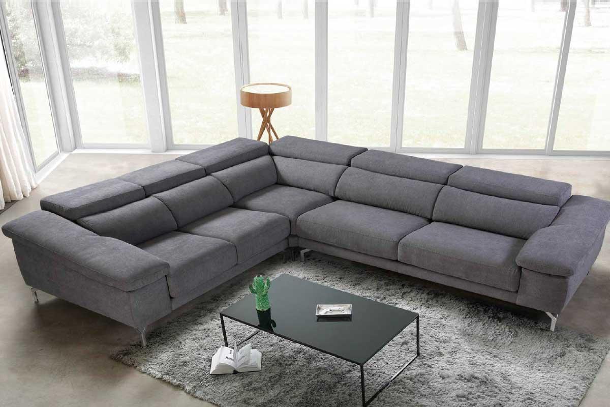 Sofá L8, mueble tapizado